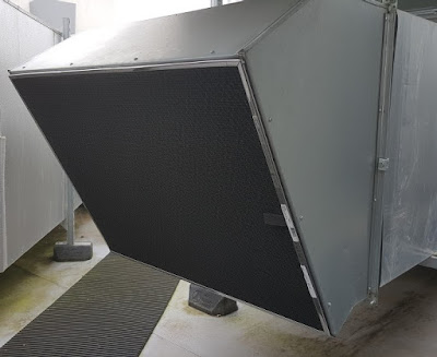 A RABScreen air intake filter screen at Tewkesbury