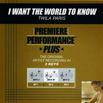 Twila Paris-Premiere Performance Plus-I Want The World To Know-