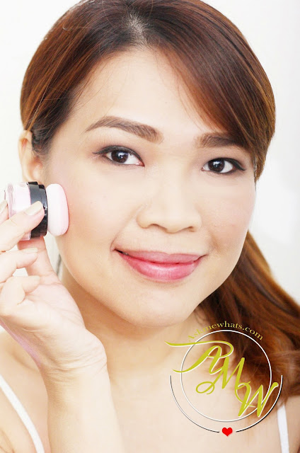a photo of Dearberry Toc Toc Blusher in Marshmallow Bunny Nikki Tiu AskMeWhats