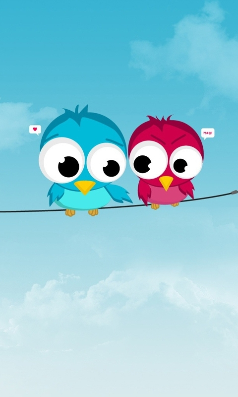 Cute Birds Mobile Wallpaper Mobile Wallpapers Download Free Android Iphone Samsung Hd Backgrounds
