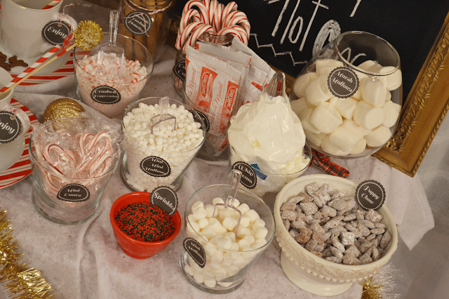 All Things Pink And Pretty Day 11 Diy Hot Chocolate Bar