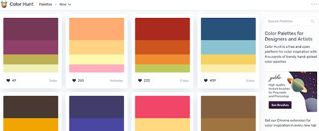Situs penyedia inspirasi warna terbaik