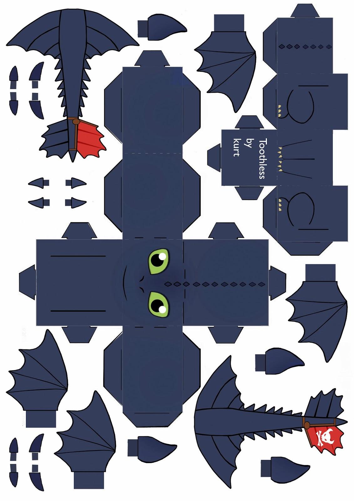 La Galerie d'Ezabora: Krokmou (Toothless, de Dragons ... - photo#39