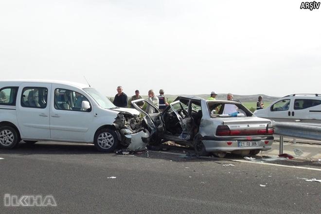 Çınar'da Akçomak yakınlarındaki trafik kazasında yaralanan adam hayatını kaybetti