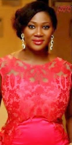 mercy johnson  africa magic dress