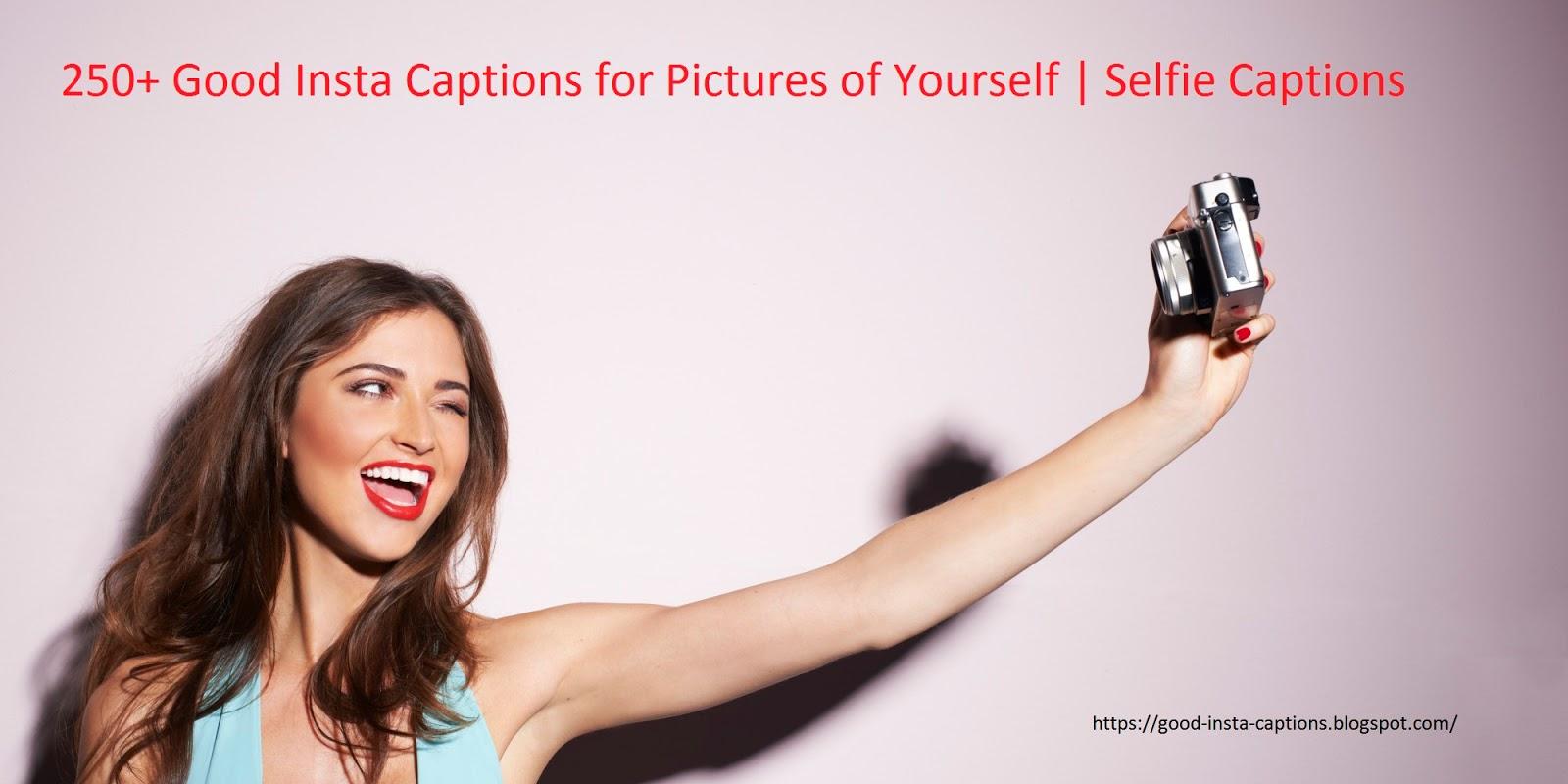 Good Caption For Selfie 3
