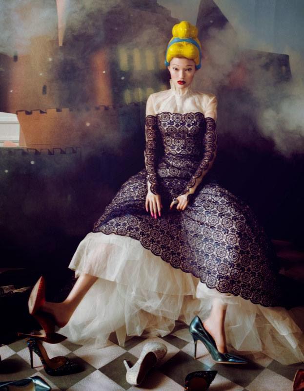 Fashion Editorial   The Dream - Yan Xu by Shxpir for Harper's Bazaar China December 2013