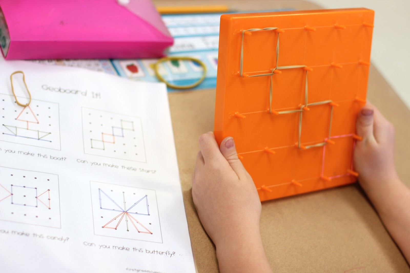 Geoboard Activities And Fun