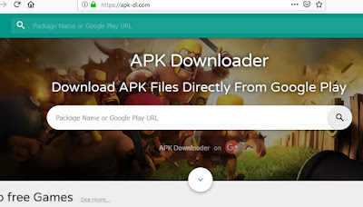 5 website downloader file APK Android playstore via komputer pc