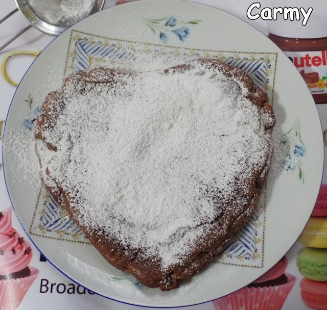torta nutella veloce