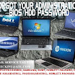 RECOVER YOUR ADMINISTRATION BIOS/HDD PASSWORD