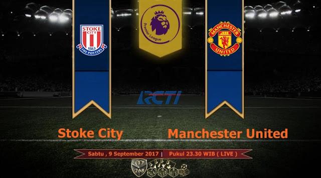 Prediksi Bola : Stoke City Vs Manchester United , Sabtu 09 September 2017 Pukul 23.30 WIB @ RCTI