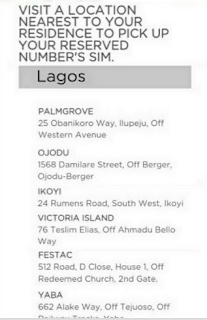 Locations to get Your Ntel Sim in Lagos State price in nigeria
