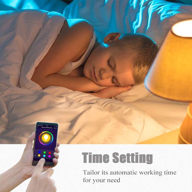 LOHAS Smart Bulb Time Setting