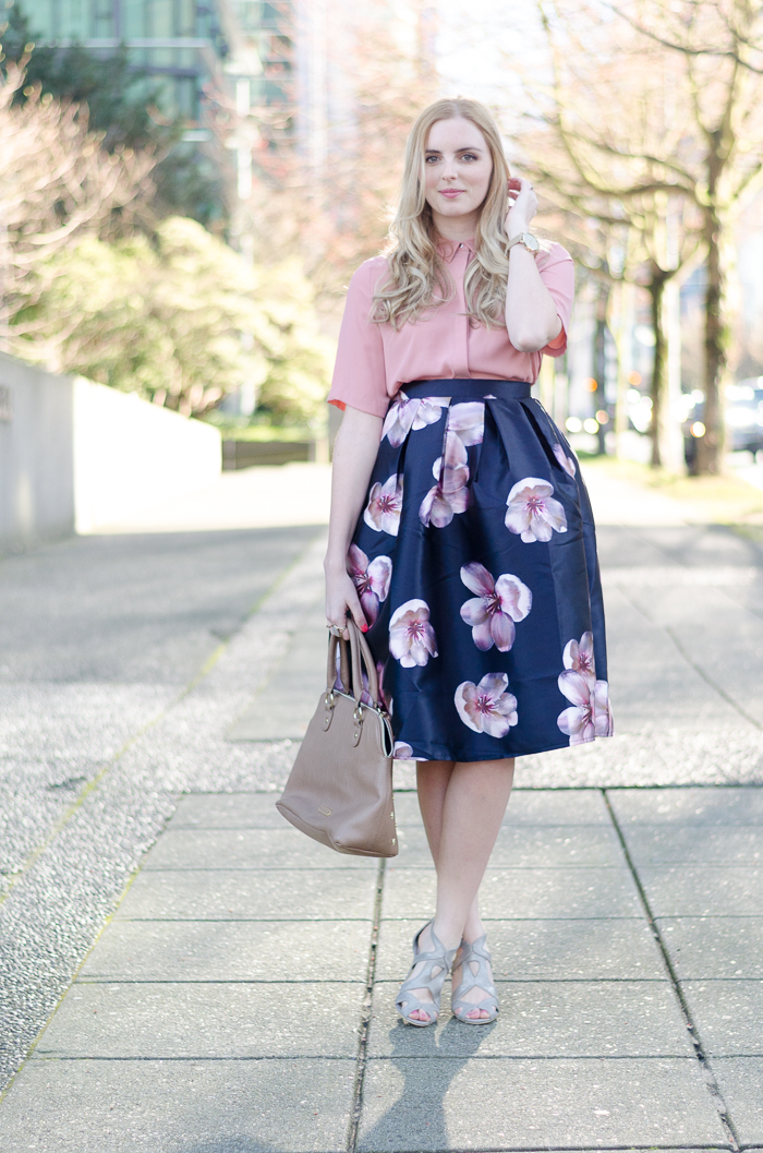 the urban umbrella, vancouver style blog, vancouver fashion blog, vancouver lifestyle blog, vancouver health blog, vancouver fitness blog, vancouver travel blog, canadian fashion blog, canadian style blog, canadian lifestyle blog, canadian health blog, canadian fitness blog, canadian travel blog, bree aylwin, how to style a midi skirt, chicwish midi skirt, floral midi skirt, spring 2015 outfit idea, best fashion blogs, best style blogs, best lifestyle blogs, best fitness blogs, best health blogs, best travel blogs, top fashion blogs, top style blogs, top lifestyle blogs, top fitness blogs, top health blogs, top travel blogs