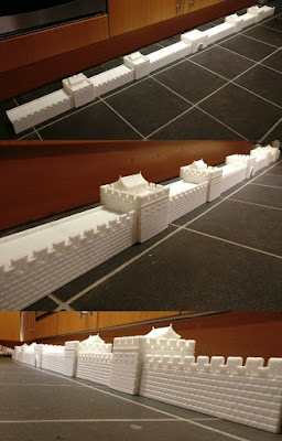 10mm Scale Ancient Great Wall of China picture 2