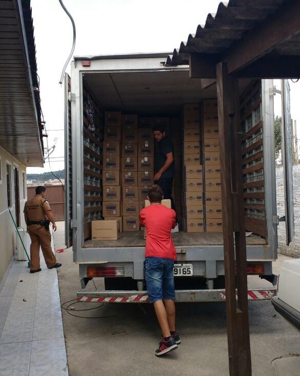 Policia recupera carga de medicamentos avaliada em 300 mil reais em Colombo