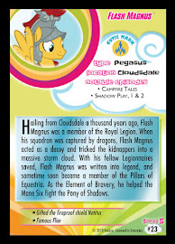 MLP Flash Magnus Series 5 Trading Card