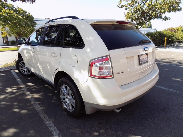 2008 Ford Edge before body repairs & color change at Almost Everything Auto Body.
