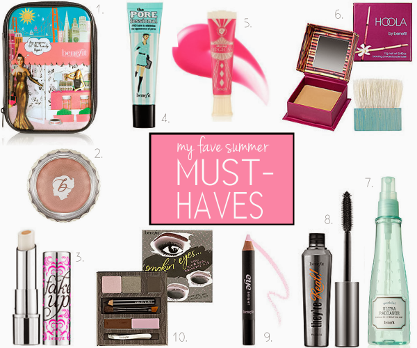 10 makeup must haves from benefit for summer. Black Bedroom Furniture Sets. Home Design Ideas