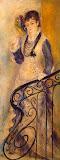 Woman on a Stair by Pierre-Auguste Renoir - Genre Paintings from Hermitage Museum
