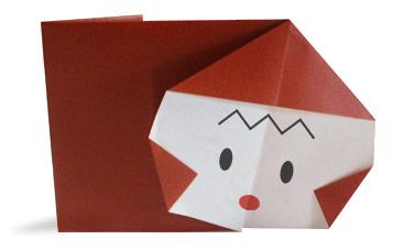 Monkey(face)   Origami easy, Origami tutorial easy, Origami animals   227x357