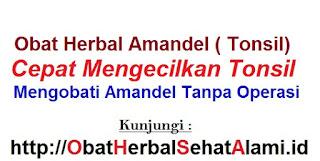 Cara alami mengobati amandel tanpa operasi herbal Lamandel