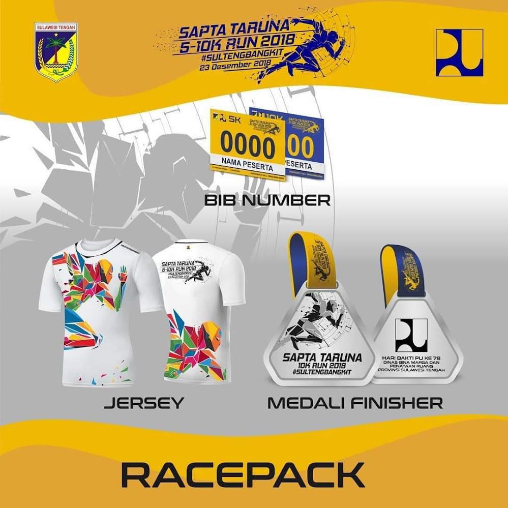 Racepack Sapta Taruna Run • 2018