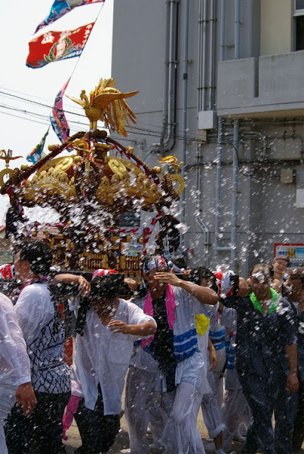 Big Fish Festival (float parade), Choushi City, Chiba Pref.