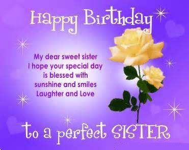 Birthday Poems for Sister