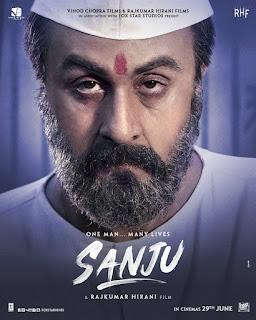 Sanju First Look Poster 8