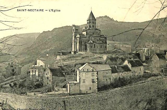 CPA saint Nectaire, Puy de Dôme.