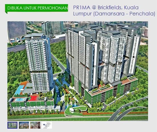 12 Projek PR1MA Baru Dibuka 2016