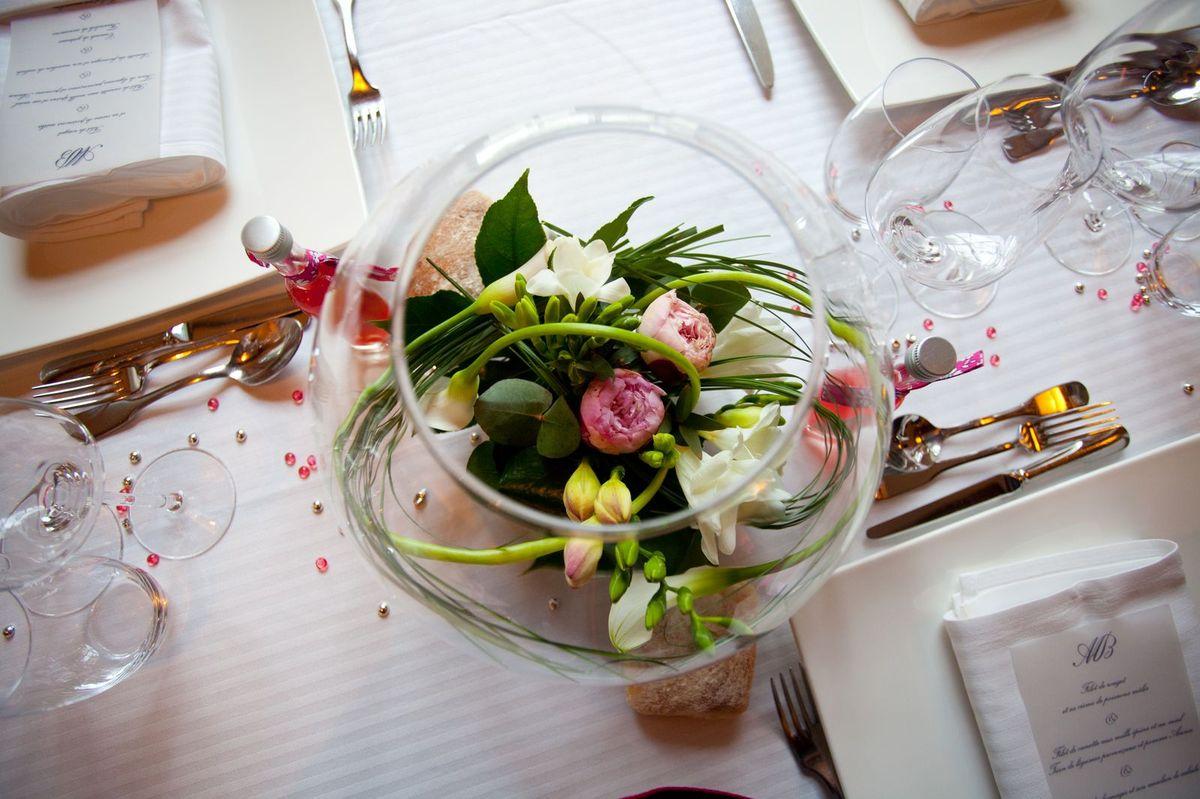 id et photo dcoration mariage Decor centre de table de