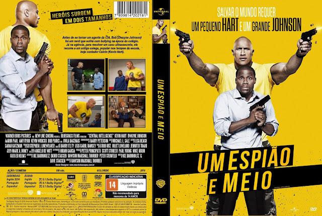 Capa DVD Um Espião E Meio