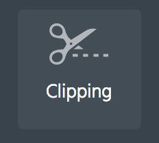 Clipping icon