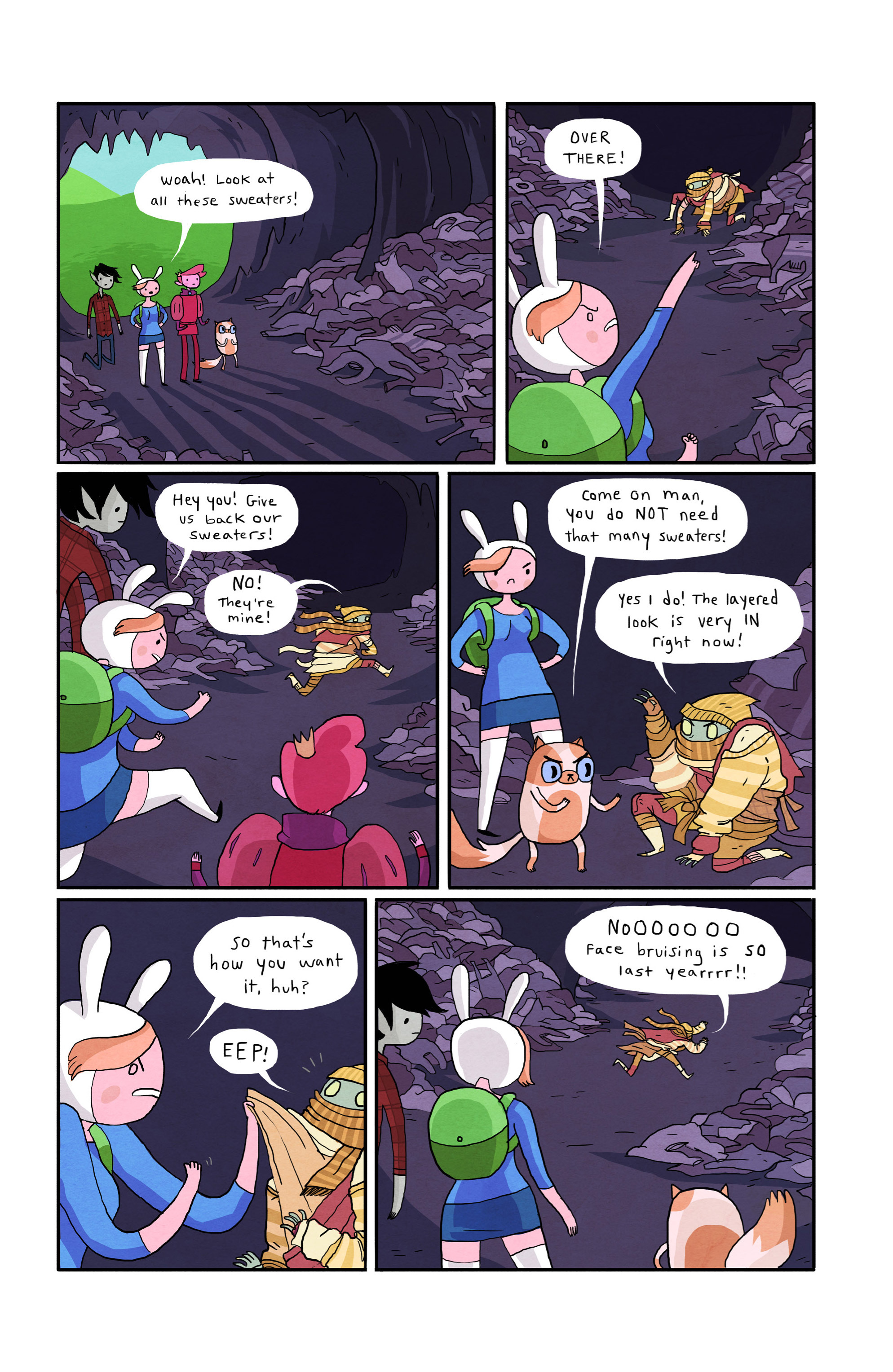 Read online Adventure Time with Fionna & Cake comic -  Issue #1 - 28