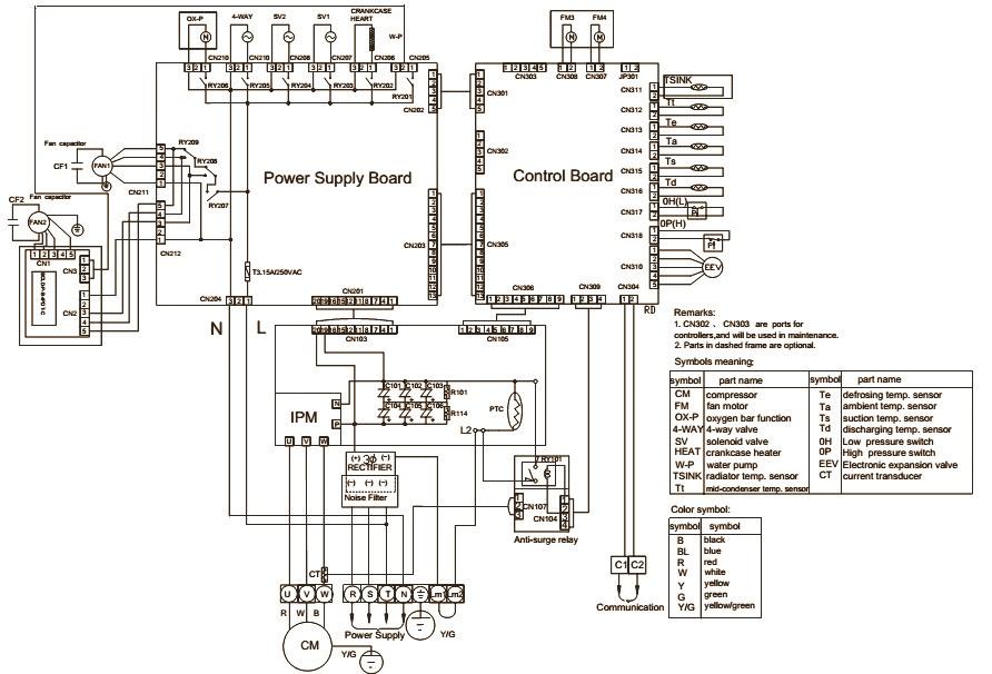 haier aufhbia aufibia aunfibja wiring diagram commercial au242fhbia wiring diagram au482fibia au48nfibga