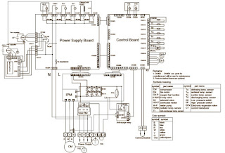 HAIER AU242FHBIA AU482FIBIA AU48NFIBJA Wiring diagram