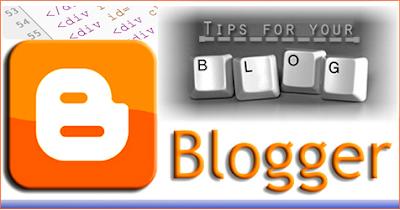 Προβολή/Απόκρυψη Widget Blogger