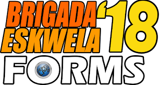 Deped Brigada Eskwela 2018 Complete Downloadable School Forms