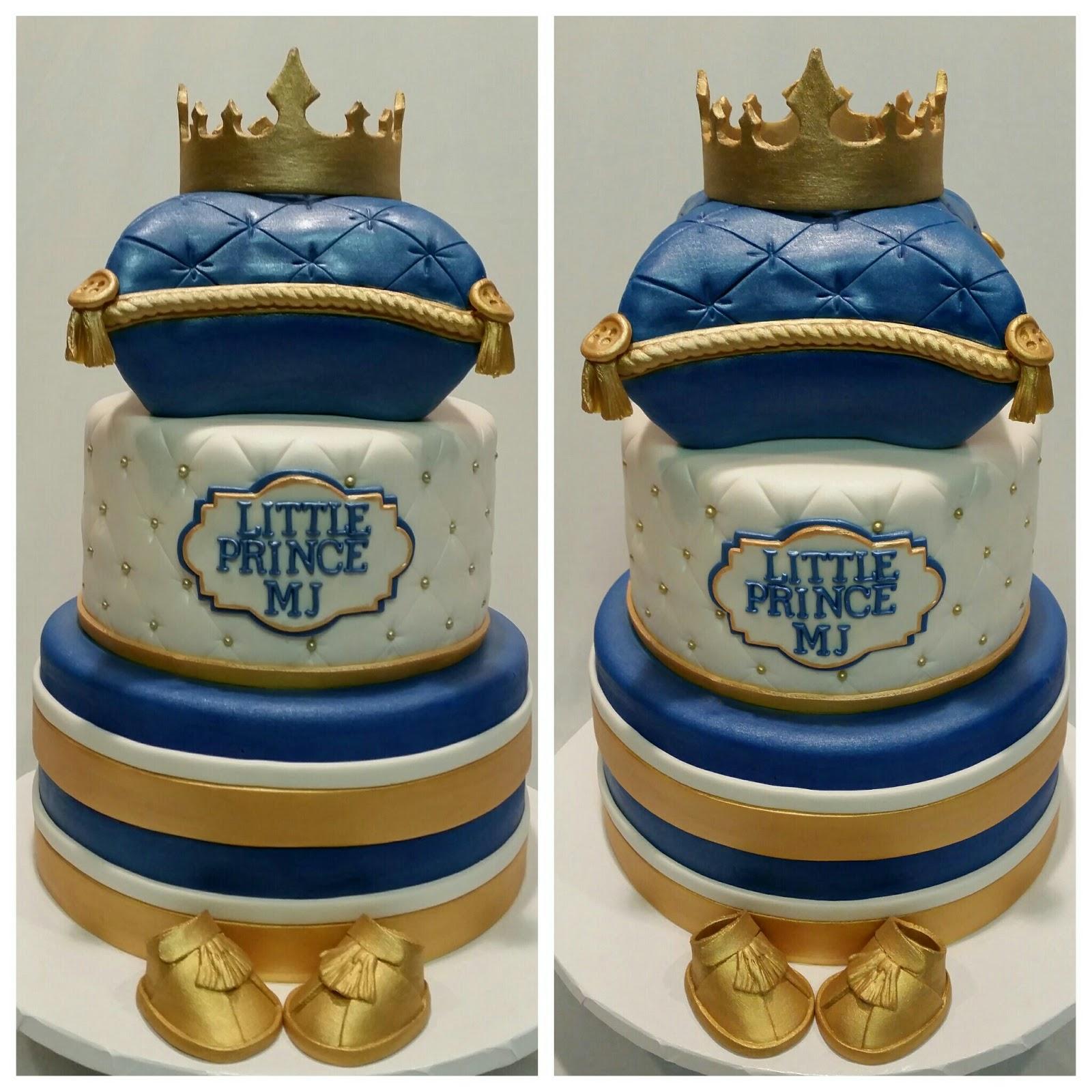 MyMoniCakes: Royal Baby Cake Ideas With Handmade Crowns
