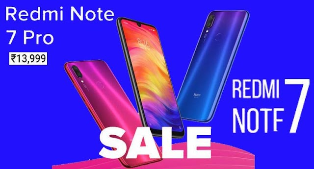 Redmi Note 7 Pro, Redmi Note 7 Open Sale in India From via Flipkart, Mi.com