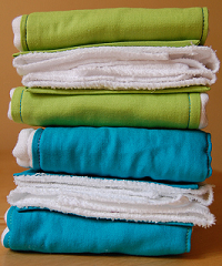 Image: Burp Cloths by Allson, on Flickr