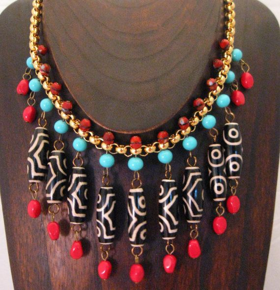 Fashion And Beauty Tips Tribal Inspired Necklace