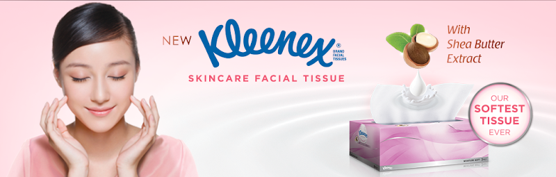 Kleenex Skincare Facial Tissue Free Sample