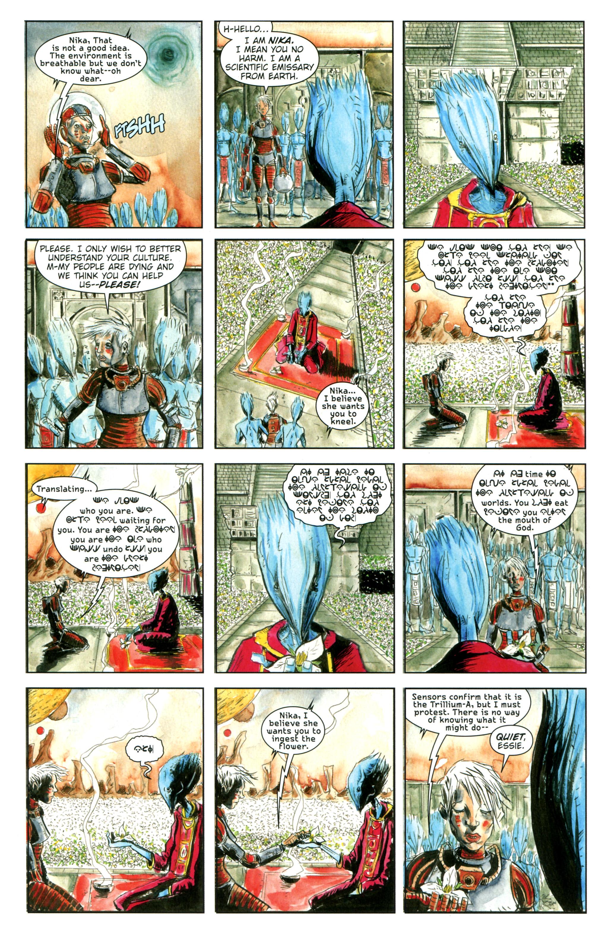 Read online Trillium comic -  Issue #1 - 26