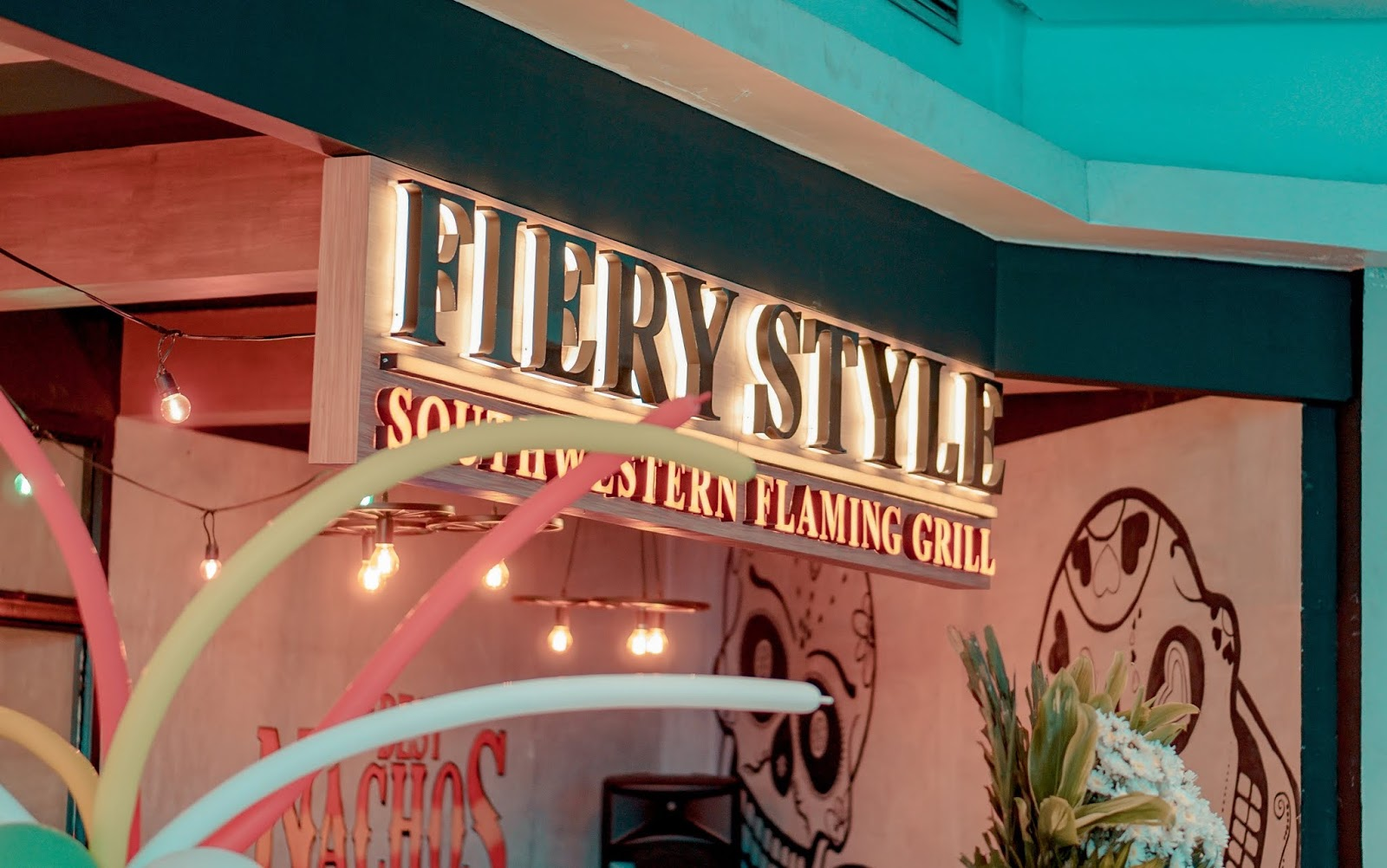 the best Tex Mex Restaurant in Metro Manila, Fiery Style Uptown Mall, Fiery Style