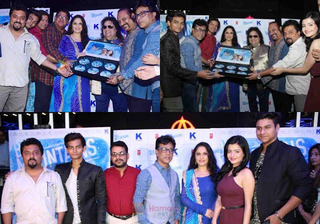 cinemawallah-Blue Mountains-Suman Ganguli-Gracy-Yatharth-Ratnum-Bappi-Bhappi-Lahiri-Leslie-Lewis-Sadhna-Sargam-Monty-music-launch