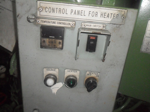 Control Panel for Heater